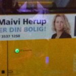 Picture of Ms. Alsobrook is on many of the busses in Copenhagen. We think she won some prize.