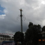The Lightning Rod. High winds, rain and lightning. We decided not to ride.
