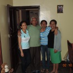 Our excellent hosts for two weeks, the Hernandez family