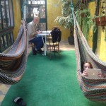 Hammock room at our hotel
