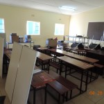 Painting and desk repair for classrooms
