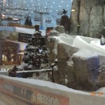 There really is a ski slope in a mall here