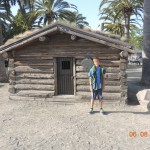Jack London's cabin, transported from Alaska to the bayfront in Oakland