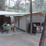 Our shelter at Housekeeping Camp